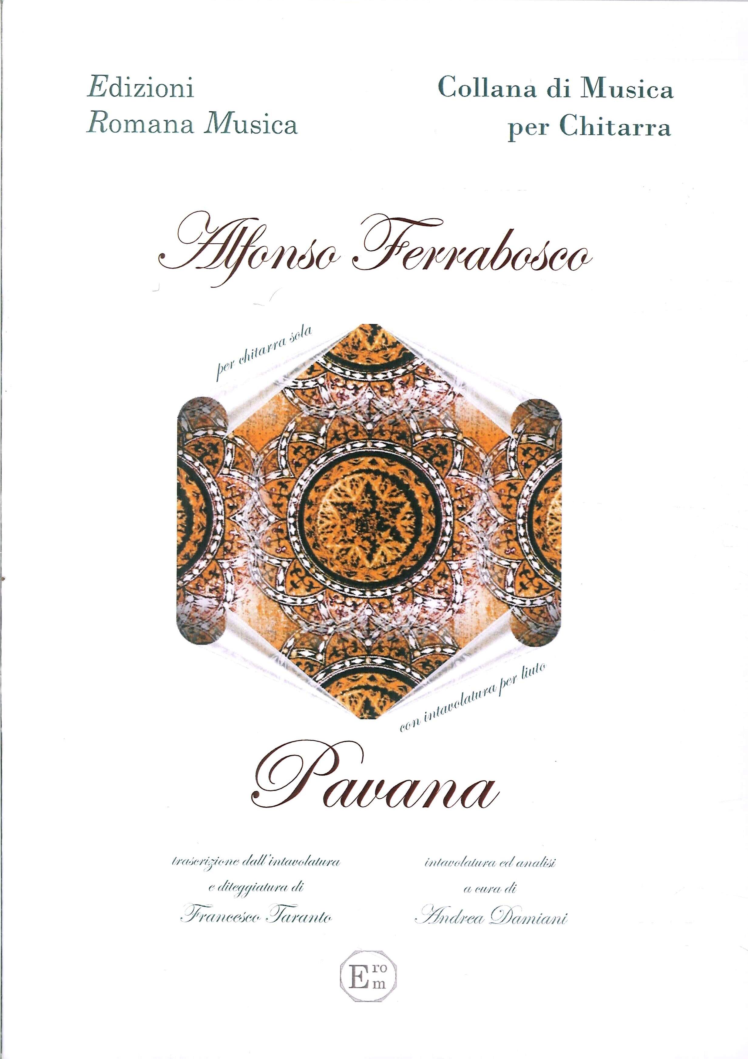 Alfonso Ferrabosco. Pavana. Musica per Chitarra e liuto. Erom 0045