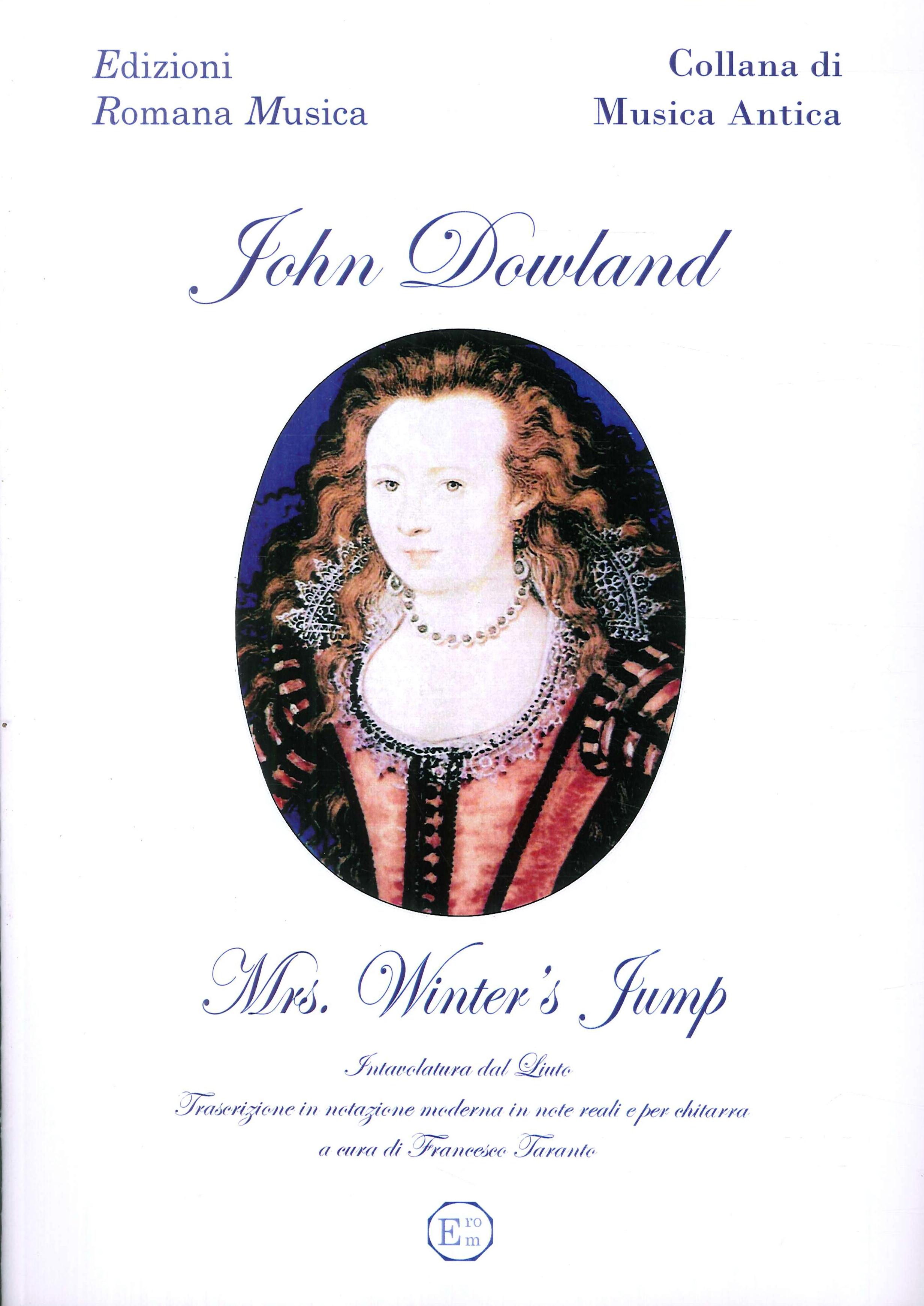 John Dowland. Mrs.winter'S Jump. Musica per Liuto e Chitarra. Erom 0127