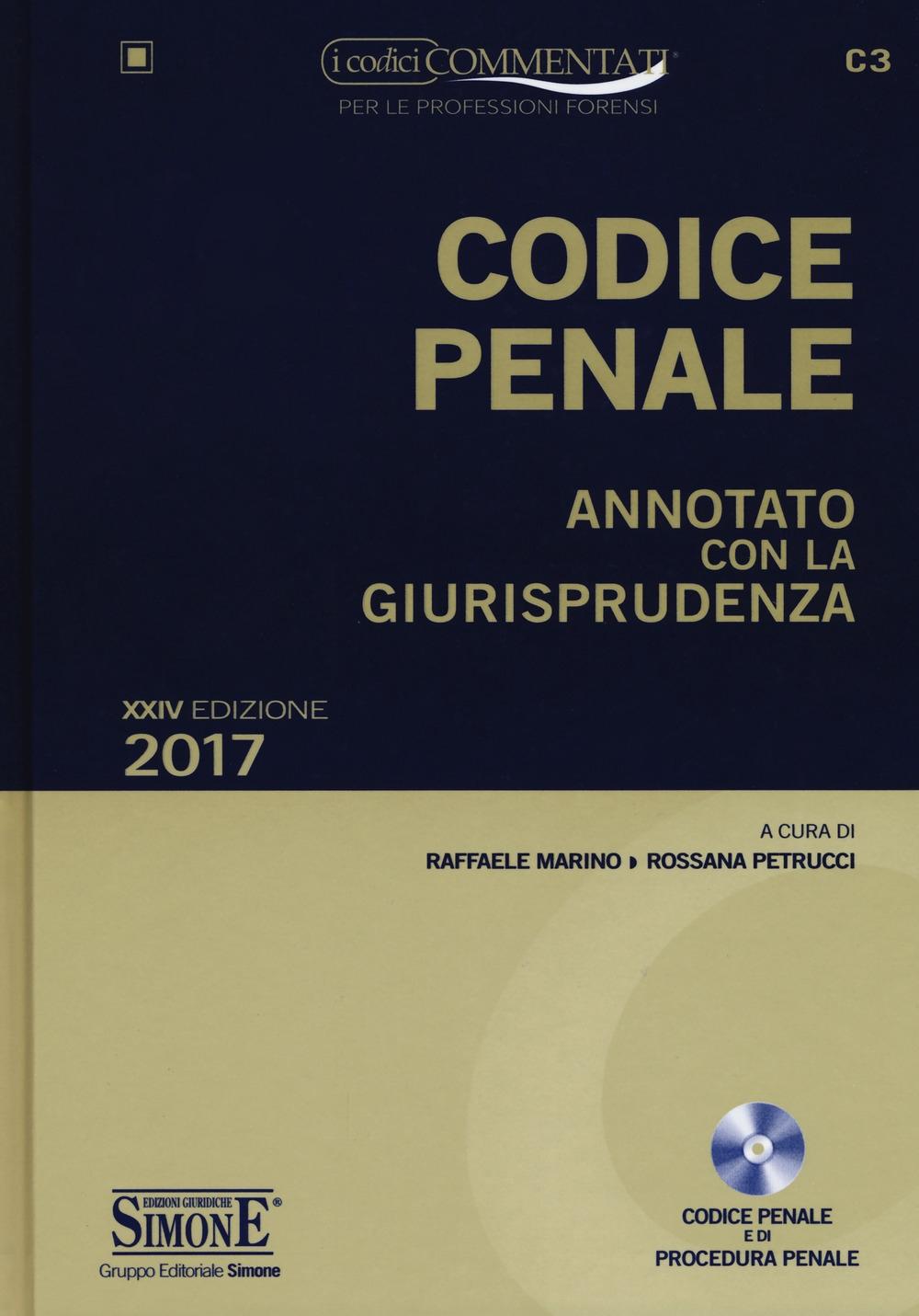 Codice penale. Annotato con la giurisprudenza. Con CD-ROM