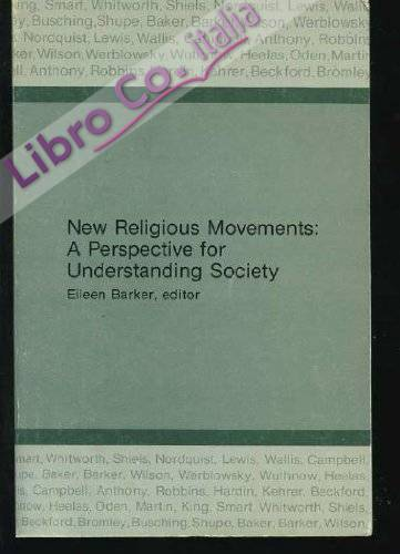New Religious Movements: a Perspective For Understanding Society