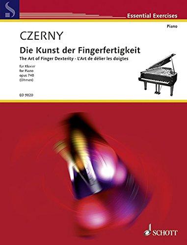 Kunst Der Fingerfertigkeit: Op. 740. Klavier.