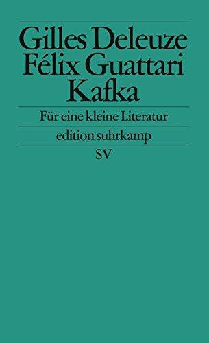 Kafka: Für Eine Kleine Literatur