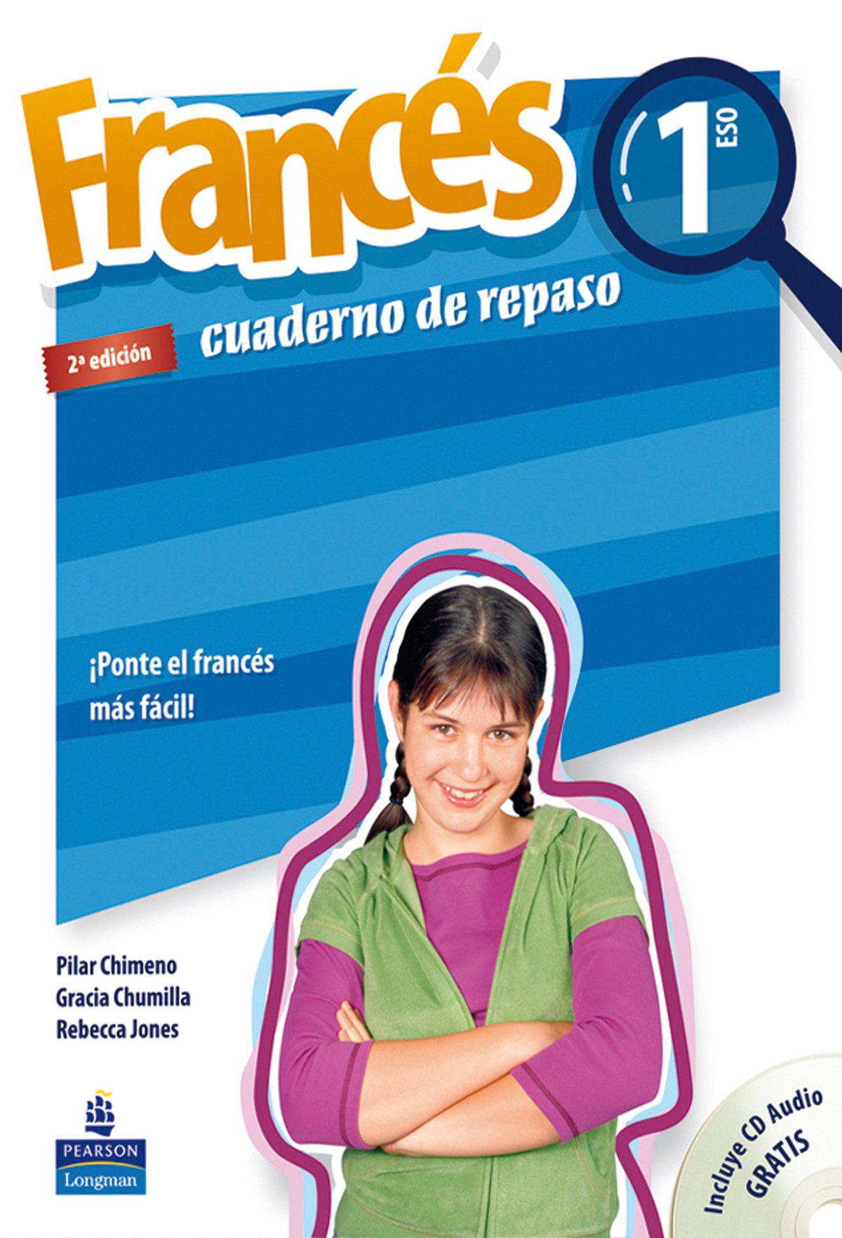 Francés, 1 Eso. Cuaderno De Repaso : ¡ponte El Francés Más Fácil!