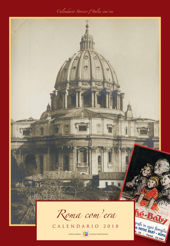 Roma com'era. Calendario 2018