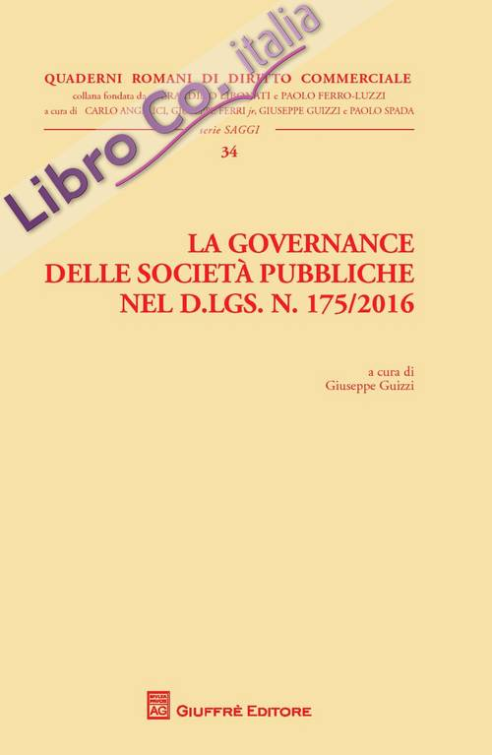 La governance delle società pubbliche nel D. Lgs. n. 175/2016