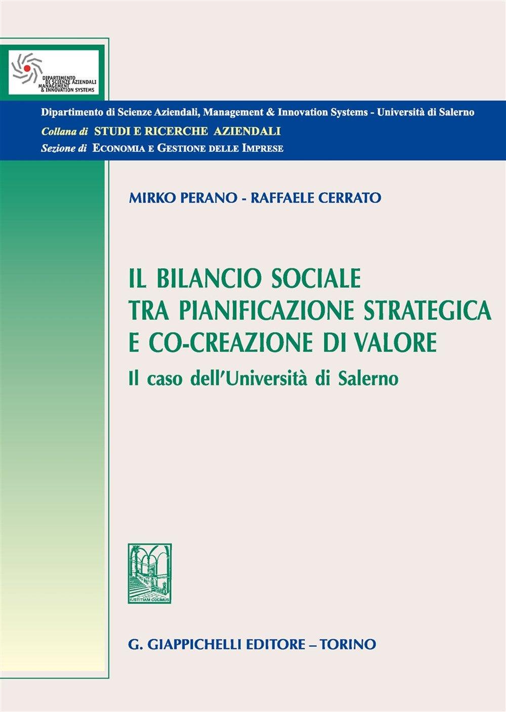 L'impatto della rendicontazione sociale nella programmazione e pianificazione strategica negli atenei