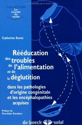 Rééducation des Troubles De l'Alimentation Et De la Déglutition Dans les Pathologies d'Origine Congénitale Et les Encéphalopathies Acquises