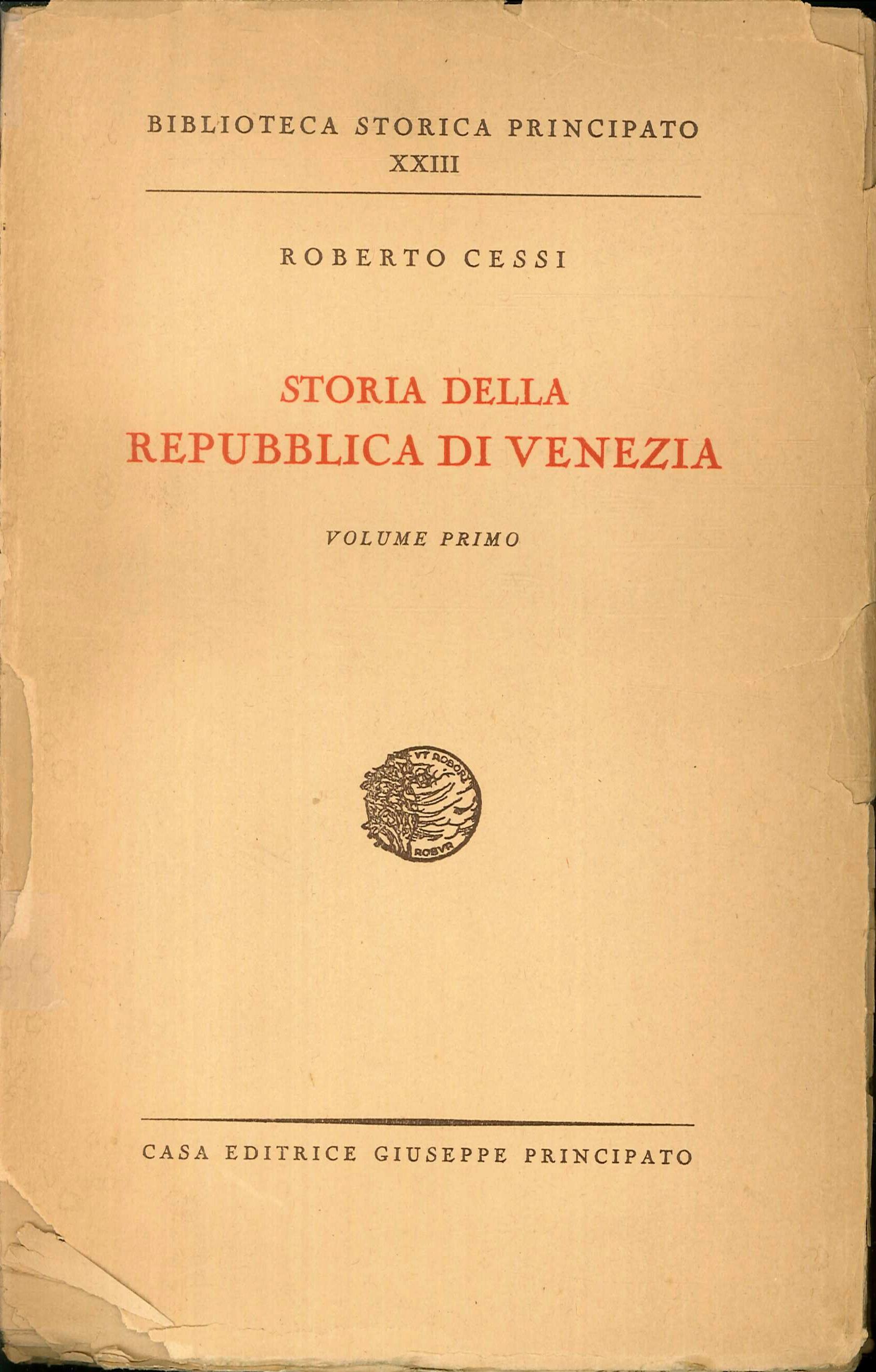 Storia della Repubblica di Venezia. Volumi 1 - 2