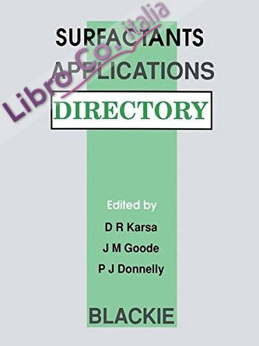 Surfactants Applications Directory