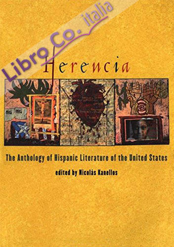 Herencia: the Anthology of Hispanic Literature of the United States