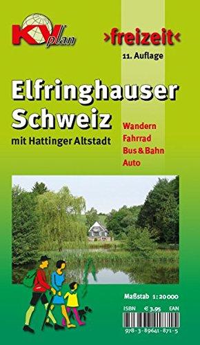 Elfringhauser Schweiz 1 : 20 000: Freizeitkarte 1:20.000 Mit Innenstadt Von Hattingen 1:2.500