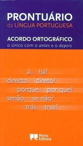 Prontuario Da Lingua Portuguesa:acordo Ortrografico Novo