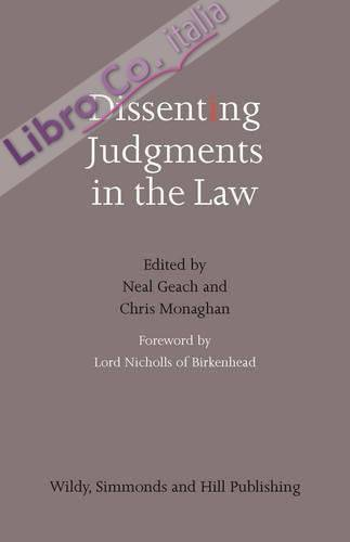 Dissenting Judgments in the Law
