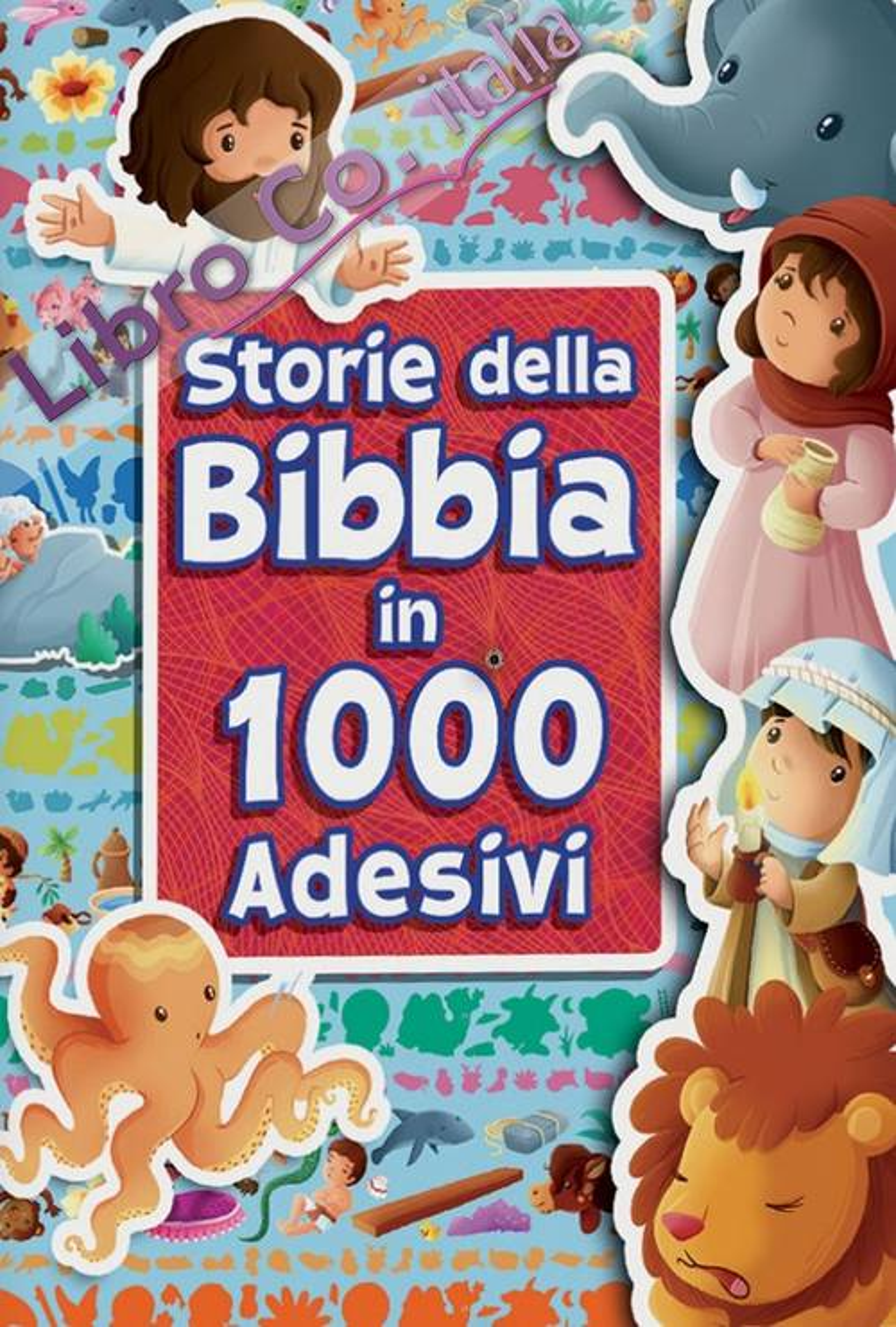Storie della Bibbia in 1000 adesivi