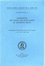 Censimento dei codici dell'epistolario di Leonardo Bruni. I. Manoscritti delle biblioteche non italiane