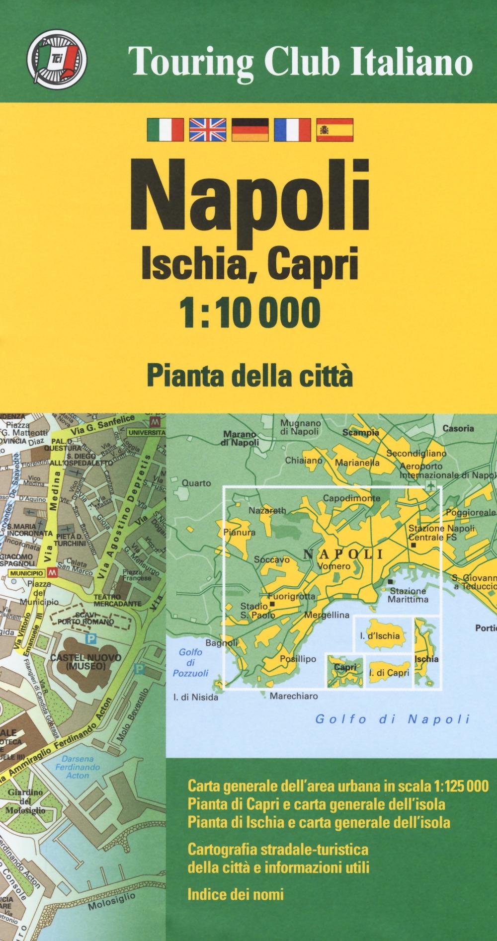 Napoli, Ischia, Capri 1:10.000