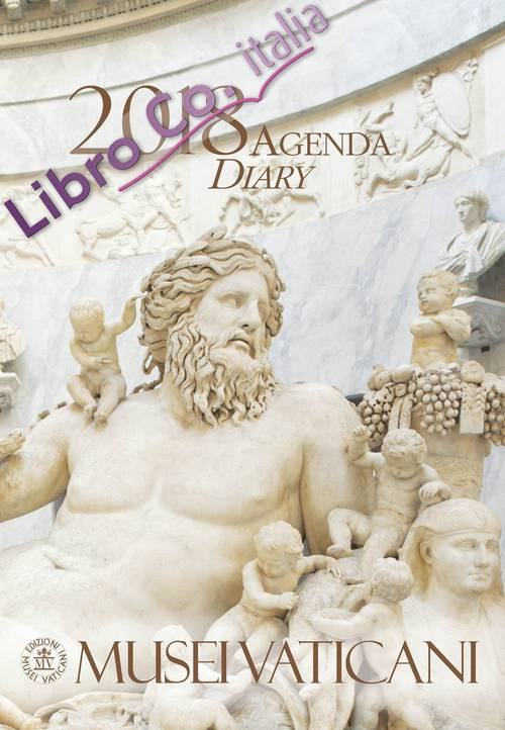 Agenda dei Musei Vaticani 2018. Ediz. italiana e inglese