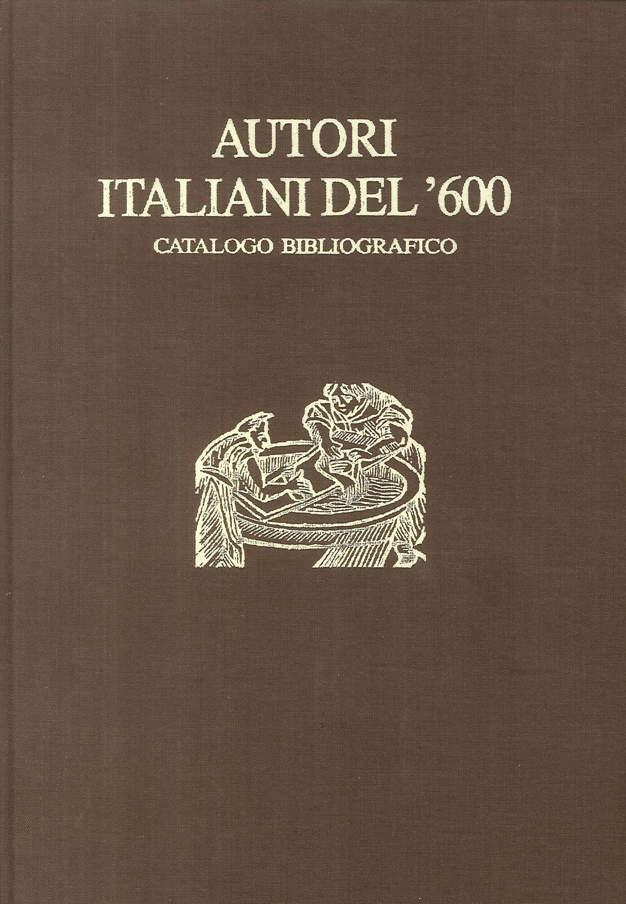 Autori italiani del '600. Catalogo bibliografico - Indici