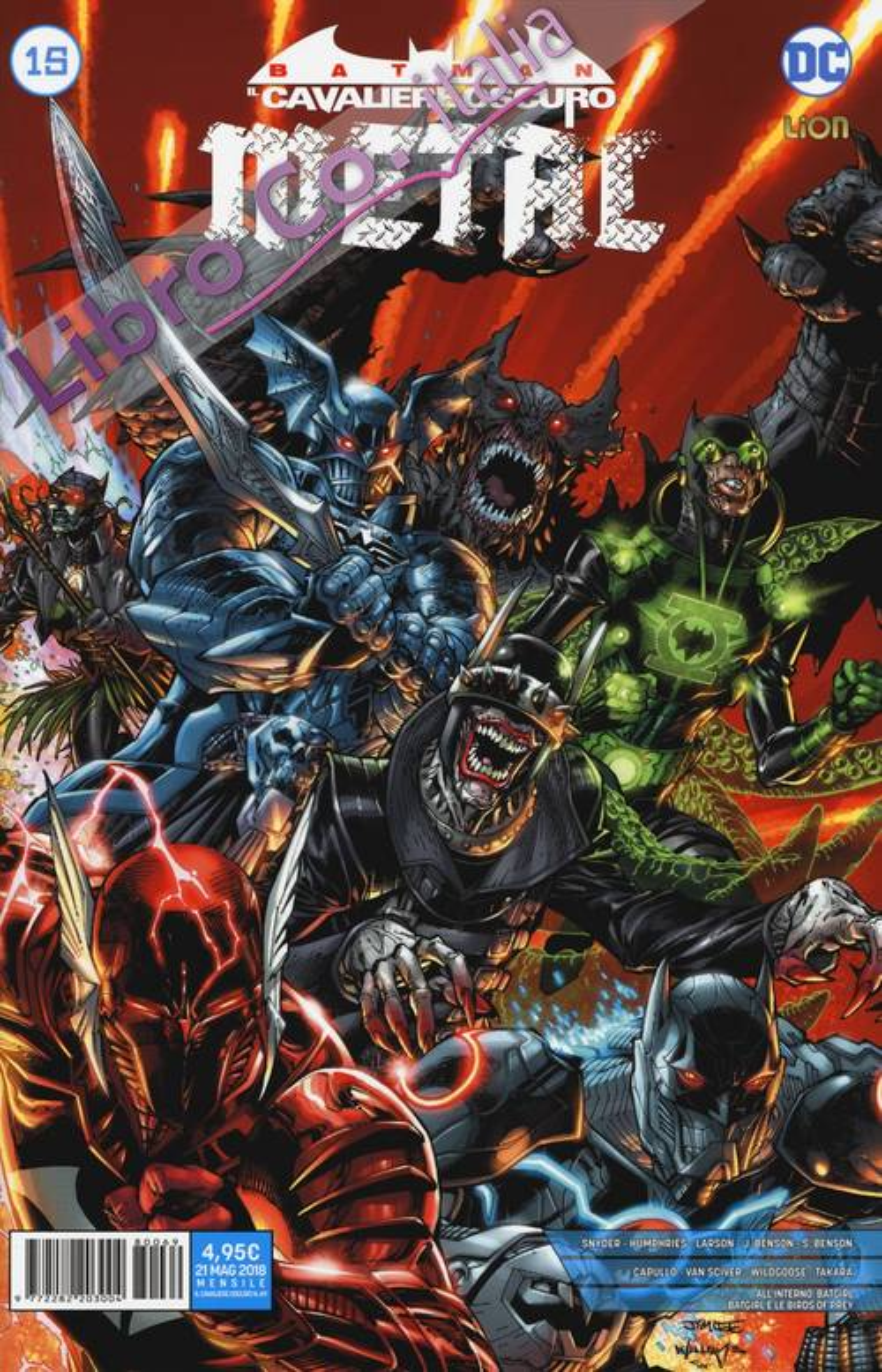 Metal. Batman. Il cavaliere oscuro. Vol. 15