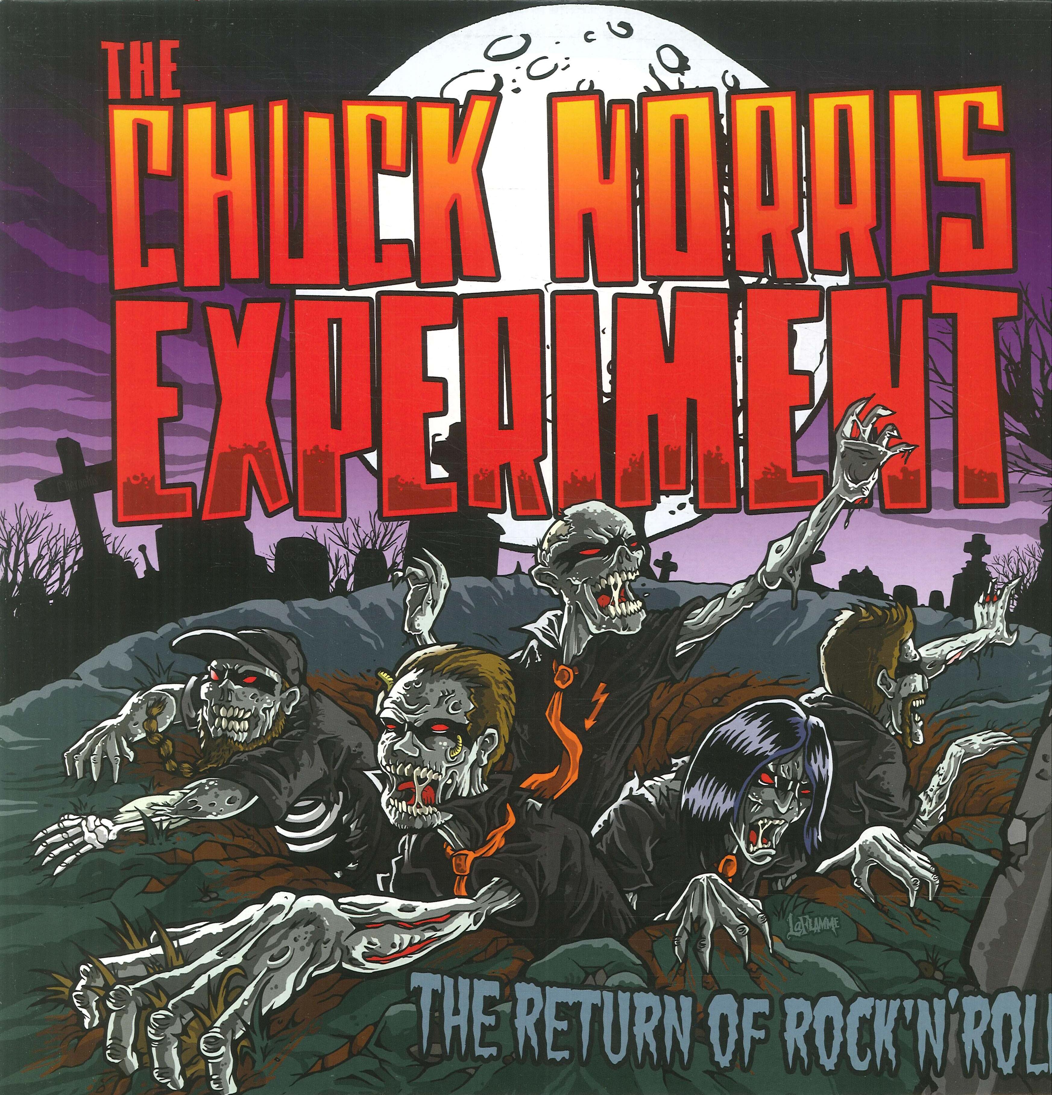Chuck Norris Experiment. The Return of Rock'n'roll. [Vinile]