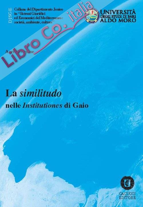 La similitudo nelle Institutiones di Gaio