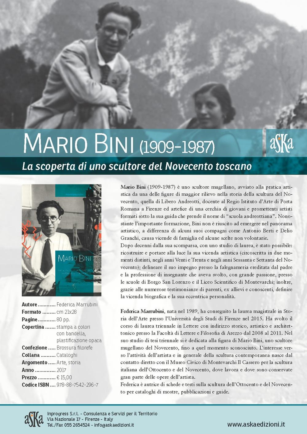 Mario Bini (1909-1987). La scoperta di uno scultore del Novecento