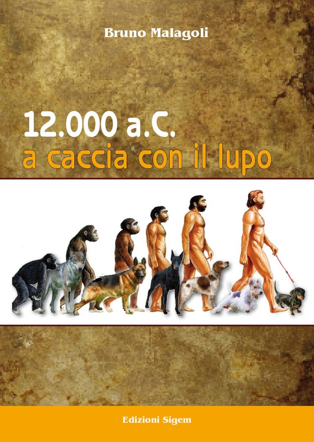 12.000 a.C. A caccia con il lupo