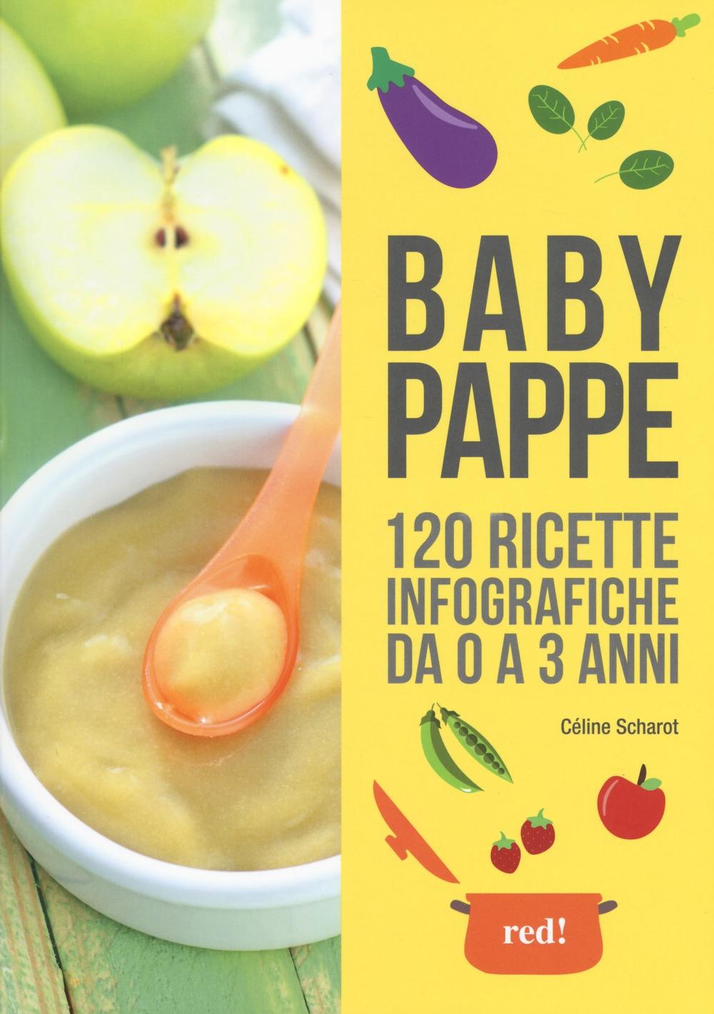Babypappe. 120 ricette infografiche da 0 a 3 anni