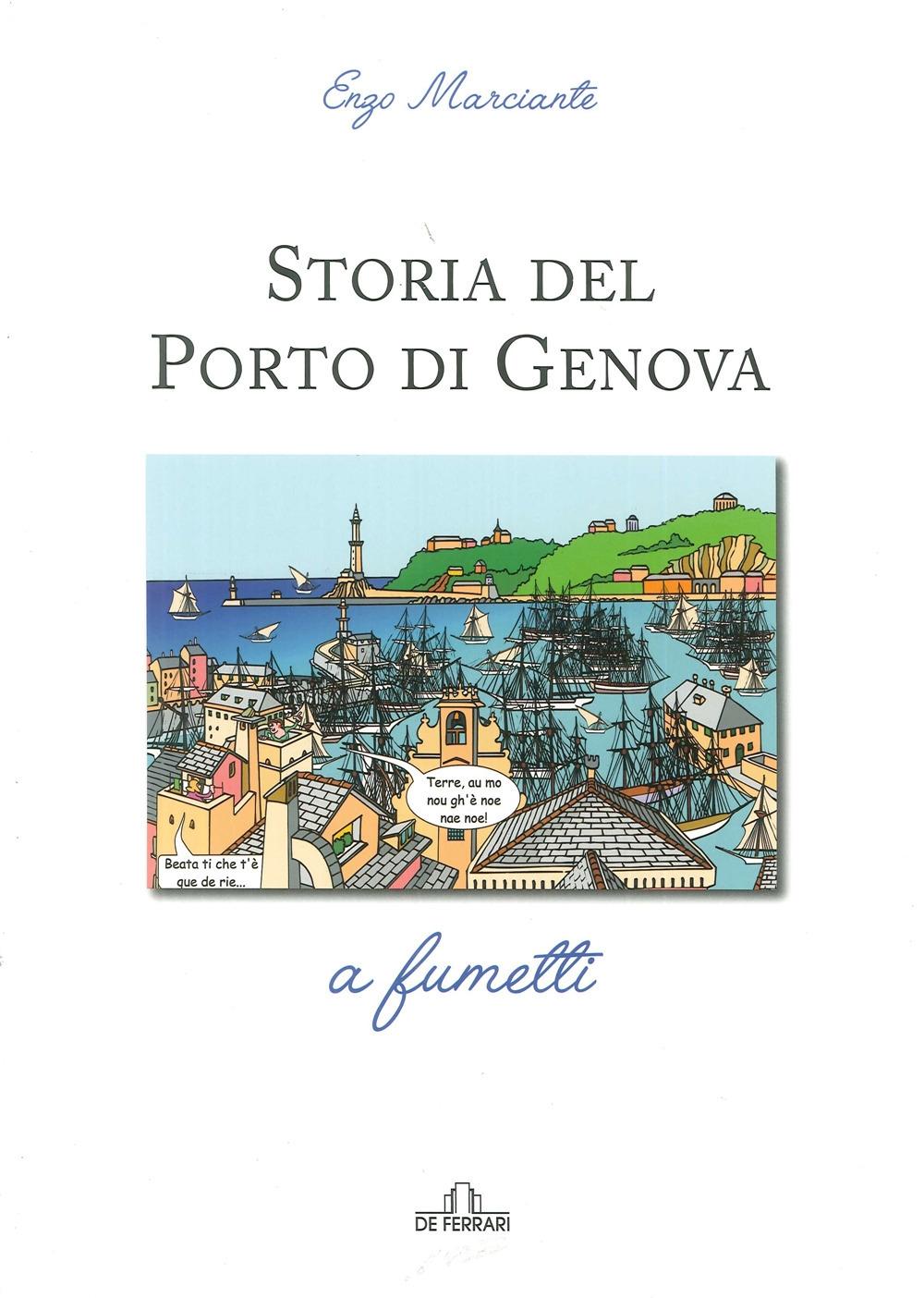 Storia del porto di Genova a fumetti