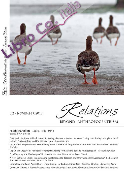 Relations. Beyond anthropocentrism. 5.2 novembre 2017