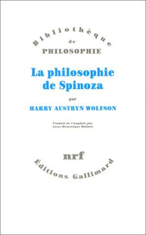 LA PHILOSOPHIE DE SPINOZA. : Pour démêler l'implicite d'une argumentation