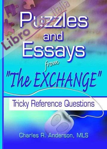 Puzzles and Essays from 'The Exchange': Tricky Reference Questions