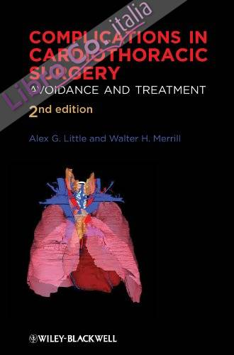 Complications in Cardiothoracic Surgery: Avoidance and Treatment