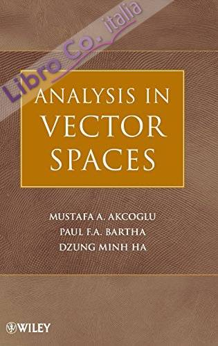 Analysis in Vector Spaces: A Course in Advanced Calculus