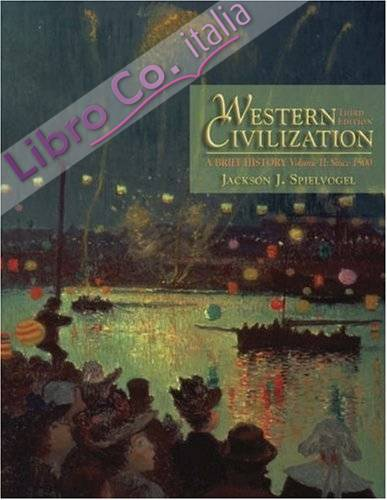 2: Western Civilization: A Brief History Since 1500