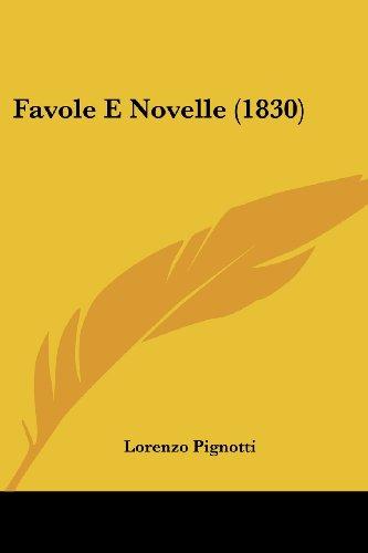 Favole E Novelle (1830)