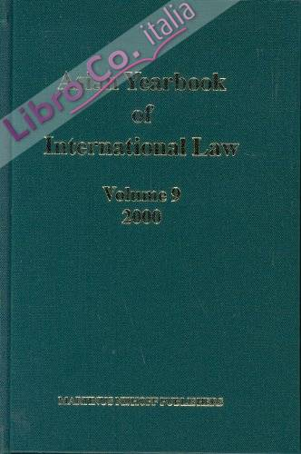 9: Asian Yearbook Of International Law 2000