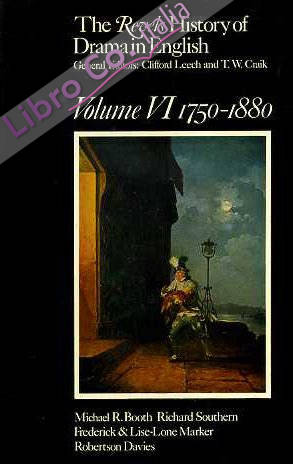 The Revels History of Drama in English: 1750-1880 v. 6