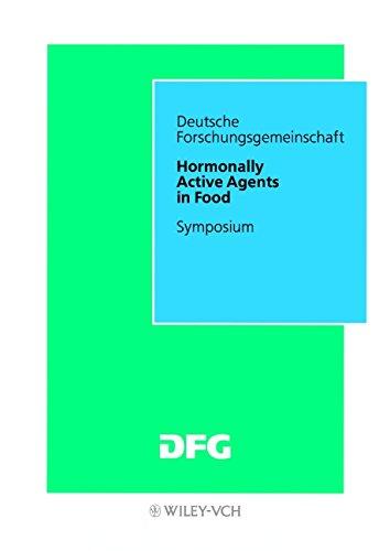 Hormonally Active Agents in Food: Symposium