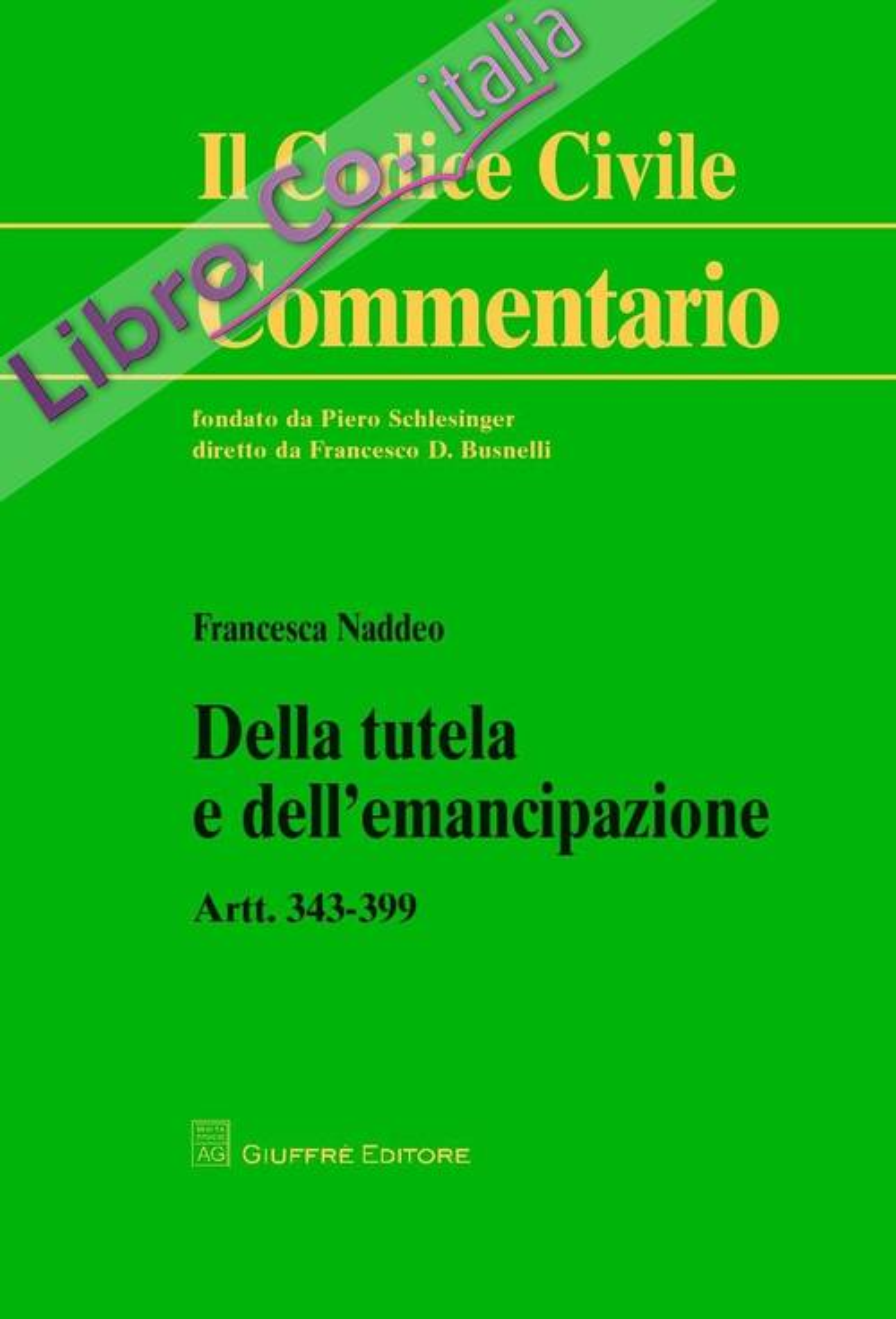 Della tutela e dell'emancipazione. Artt. 343-399