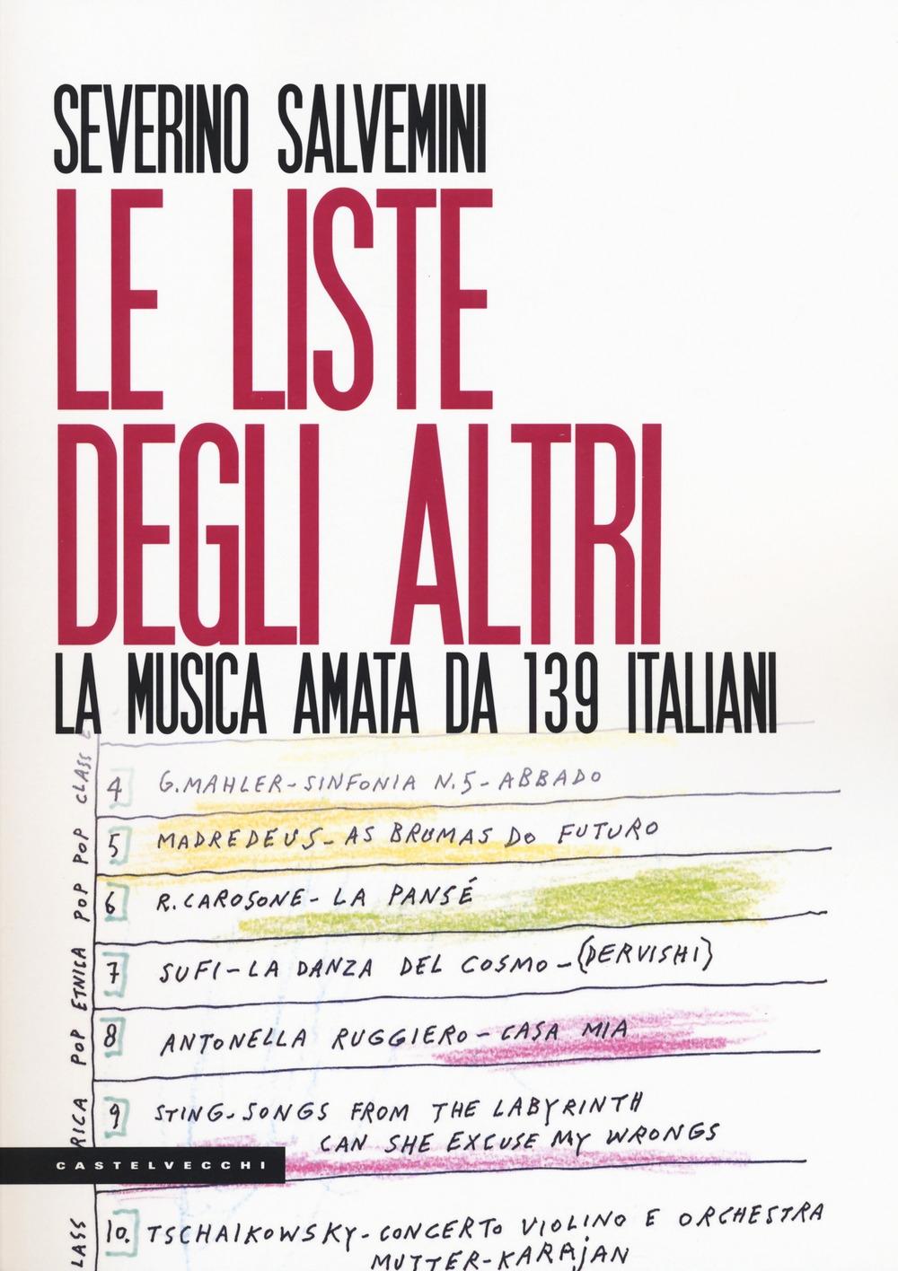 Le liste degli altri. La musica amata da 139 italiani