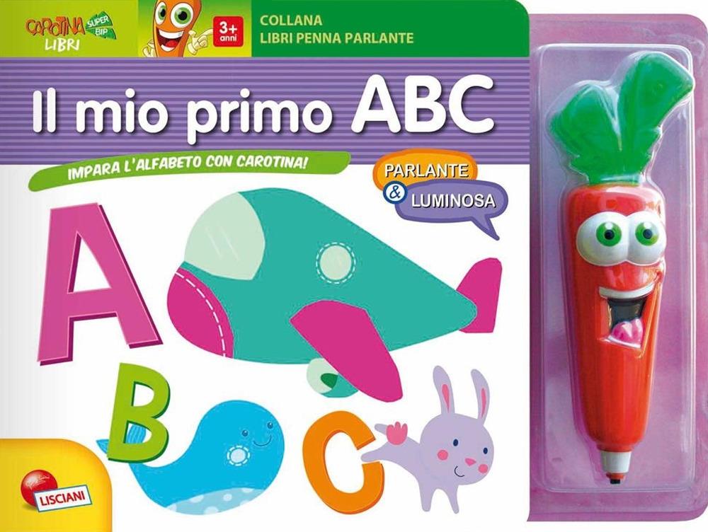 Il mio primo ABC. Impara l'alfabeto con Carotina! Ediz. a colori. Con gadget
