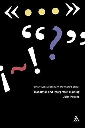 Translator and Interpreter Training: Ideas, Methods and Debates