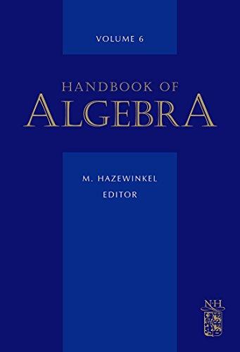 6: Handbook of Algebra