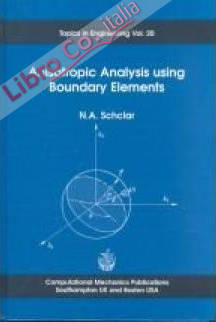 Anisotropic Analysis Using Boundary Elements