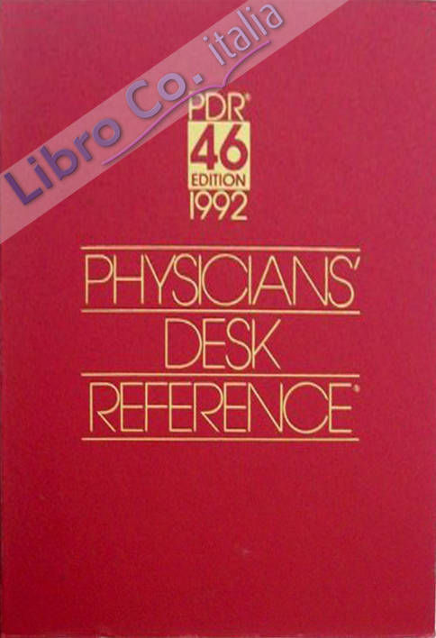 Physicians Desk Reference 1992