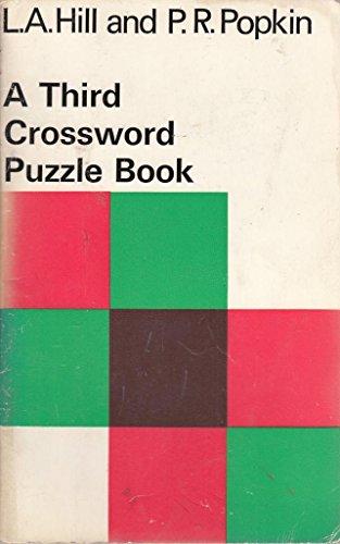 Crossword Puzzle Book: 3rd