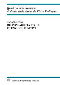 Responsabilità civile e funzione punitiva