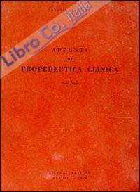 Appunti di propedeutica clinica
