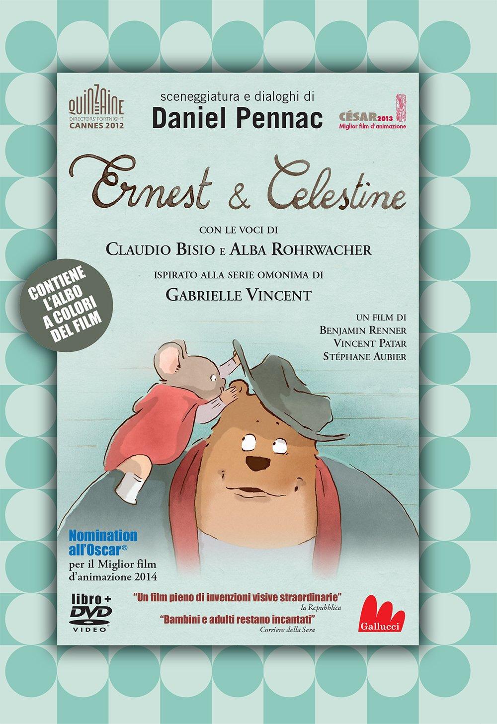 Ernest e Celestine. Il film. DVD. Con Libro in brossura